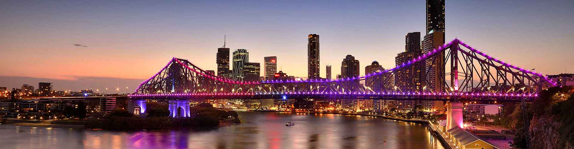 Brisbane – Ostelli nella zona  Caxton Street. Mappe per Brisbane, Foto e Recensioni per ogni Ostello a Brisbane.