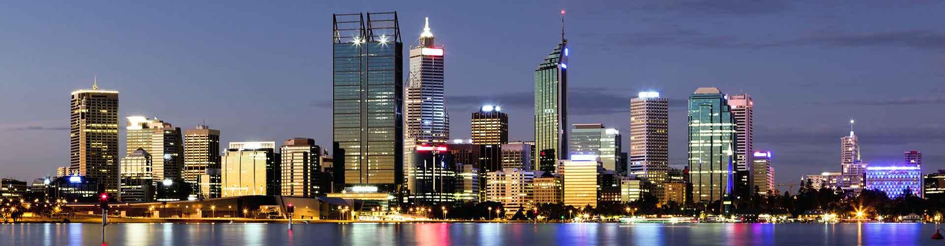 Perth – Ostelli nella Northbridge zona. Mappe per Perth, Foto e Recensioni per ogni ostello a Perth.