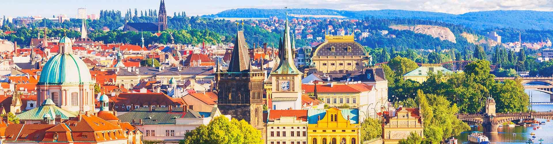 Praga – Campeggi nella zona Liben. Mappe per Praga, Foto e  Recensioni per ogni Campeggio a Praga.