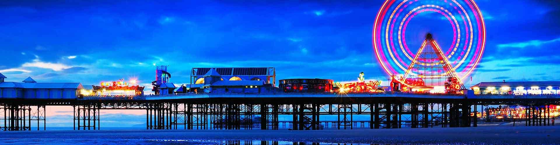 Blackpool – Ostelli vicini a Stazione ferroviaria di Blackpool Stazione Centrale. Mappe per Blackpool, Foto e Recensioni per ogni ostello a Blackpool.