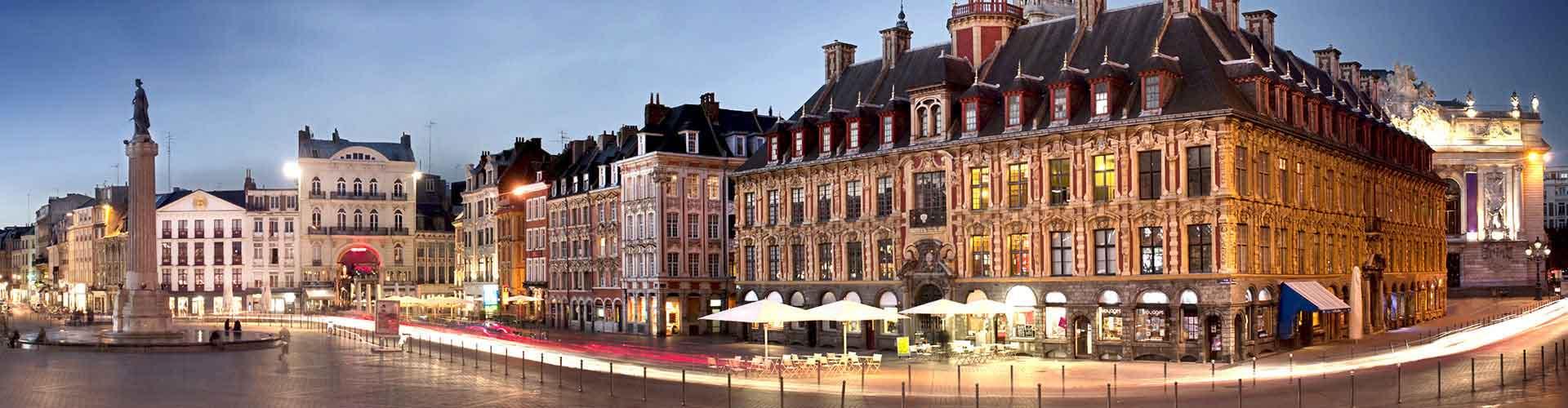 Lille – Ostelli vicini a Gare de Lille-Europe. Mappe per Lille, Foto e Recensioni per ogni ostello a Lille.