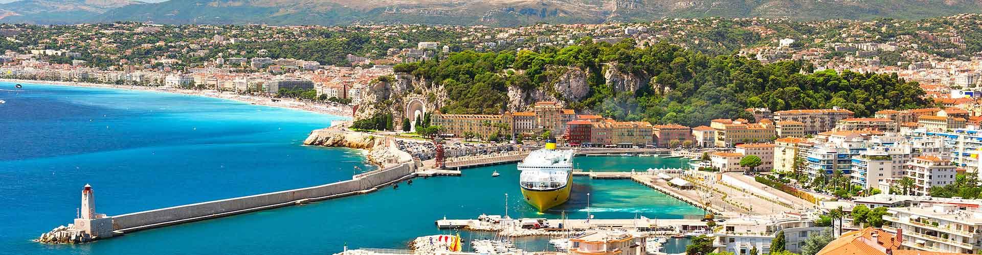 Nizza – Ostelli nella Old Town zona. Mappe per Nizza, Foto e Recensioni per ogni ostello a Nizza.