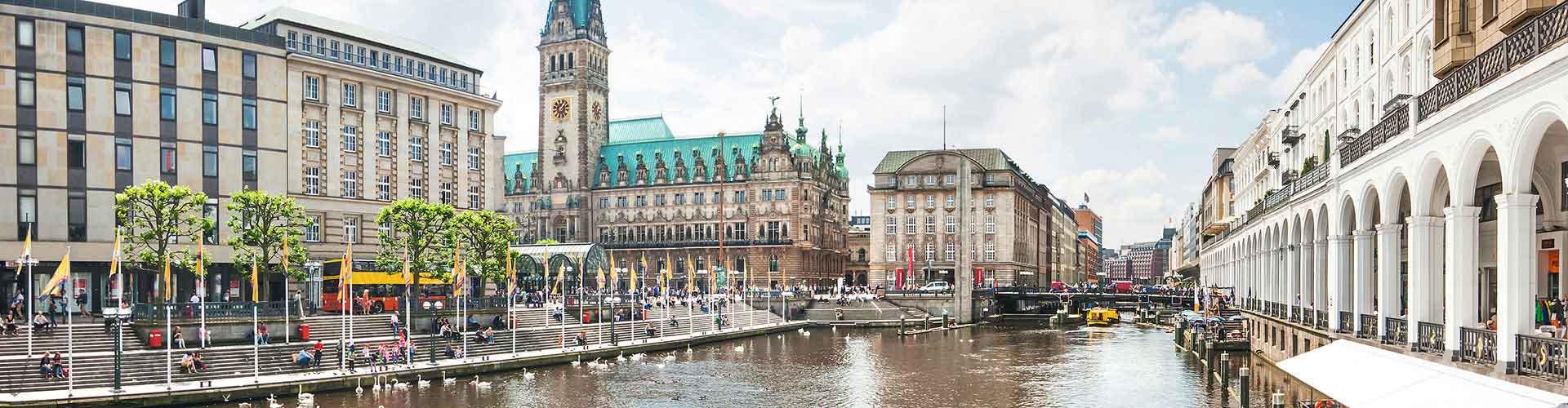 Amburgo – Campeggi vicini a Stazione ferroviaria di Hamburg Hauptbahnhof. Mappe per Amburgo, Foto e  Recensioni per ogni Campeggio a Amburgo.
