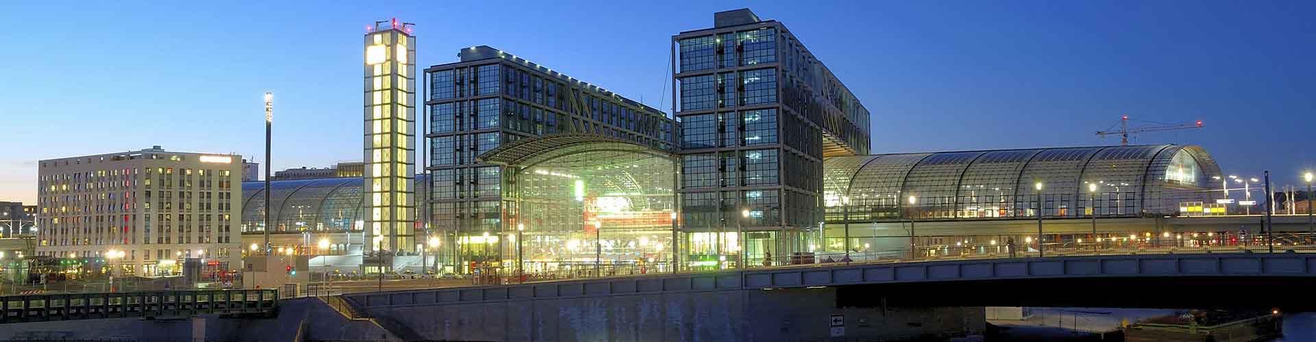 Berlino – Alberghi vicini a  Stazione ferroviaria di Berlin Hauptbahnhof. Mappe per Berlino, Foto e Recensioni per ogni Albergo a Berlino.