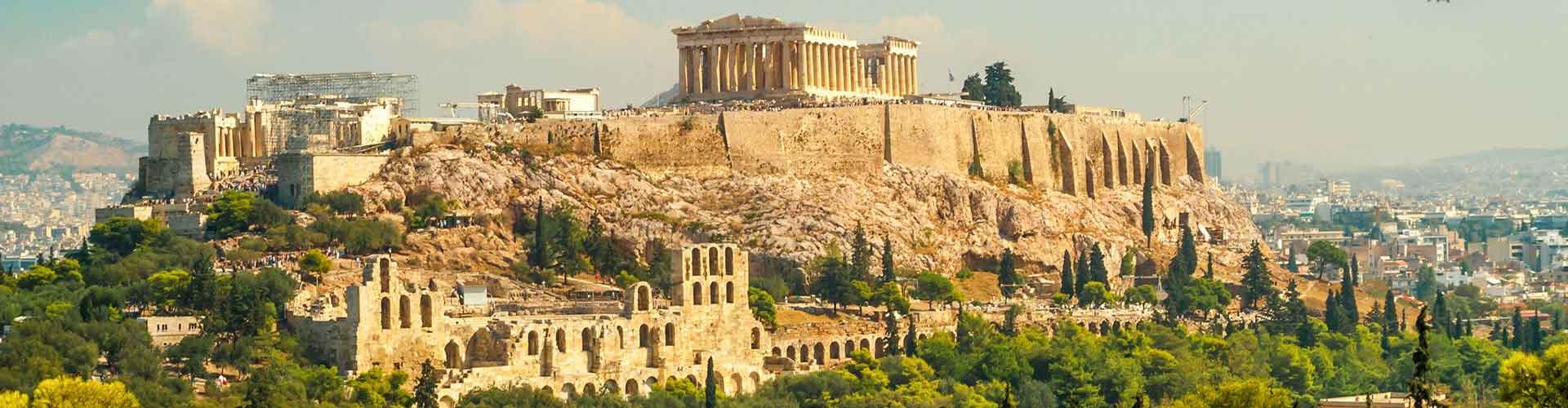 Atene – Ostelli nella Stathmos Larissis zona. Mappe per Atene, Foto e Recensioni per ogni ostello a Atene.