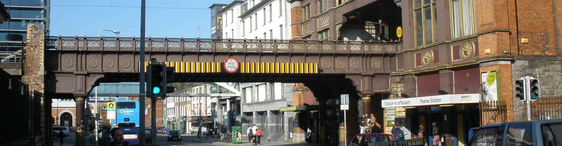 Dublino – Ostelli vicini a Dublin Pearse stazione ferroviaria. Mappe per Dublino, Foto e Recensioni per ogni ostello a Dublino.