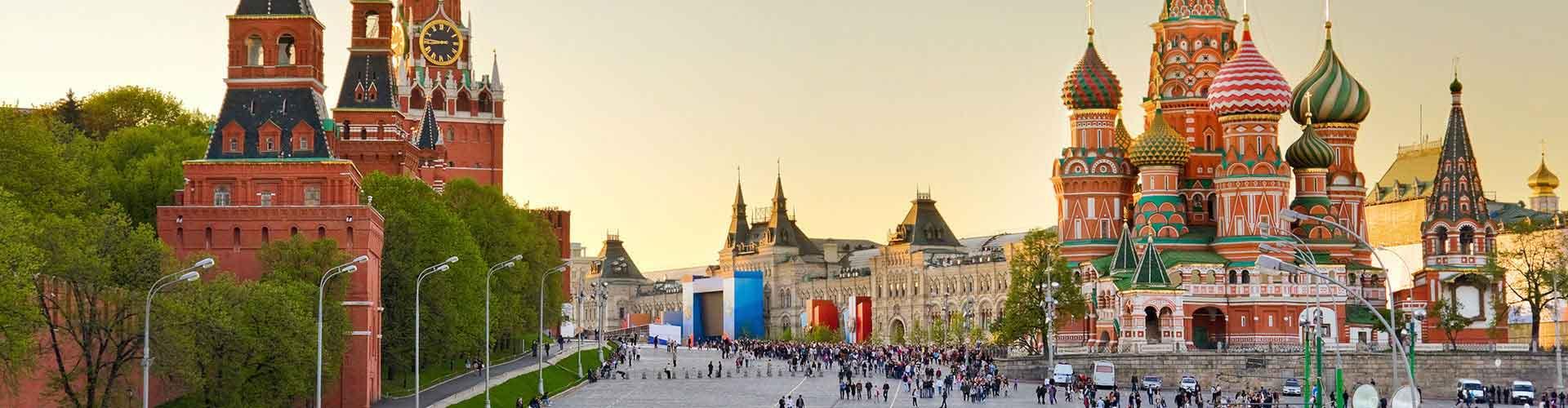 Mosca – Ostelli in Mosca. Mappe per Mosca, Foto e  Recensioni per ogni Ostello a Mosca.