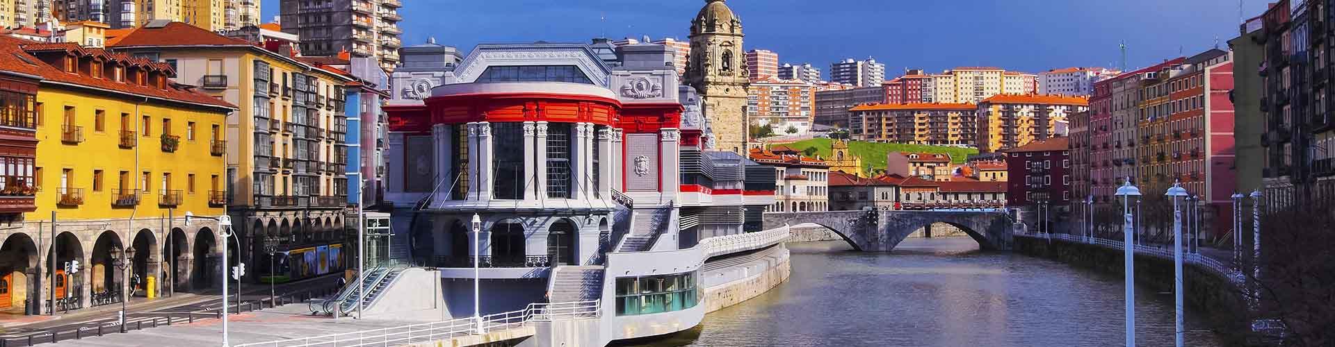 Bilbao – Alberghi vicini a  Stazione ferroviaria di Bilbao-Abando. Mappe per Bilbao, Foto e Recensioni per ogni Albergo a Bilbao.