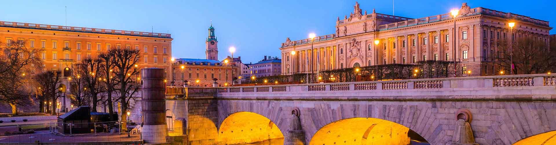 Stoccolma – Ostelli nella Gamla Stan zona. Mappe per Stoccolma, Foto e Recensioni per ogni ostello a Stoccolma.