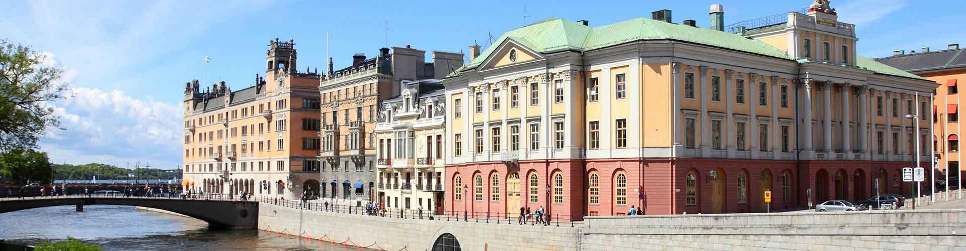 Stoccolma – Ostelli nella Norrmalm zona. Mappe per Stoccolma, Foto e Recensioni per ogni ostello a Stoccolma.