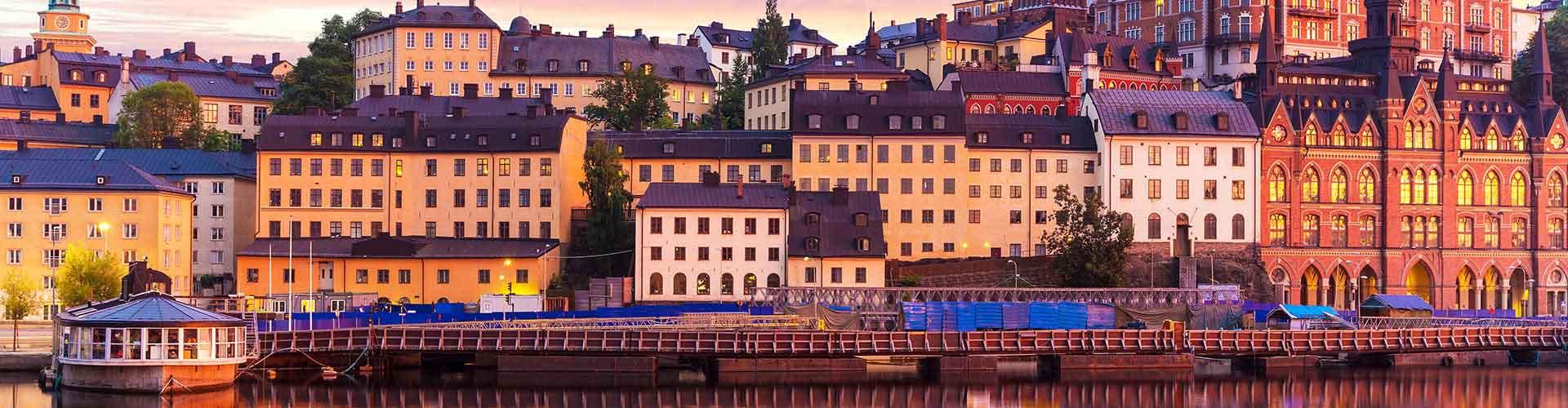 Stoccolma – Ostelli nella Södermalm zona. Mappe per Stoccolma, Foto e Recensioni per ogni ostello a Stoccolma.