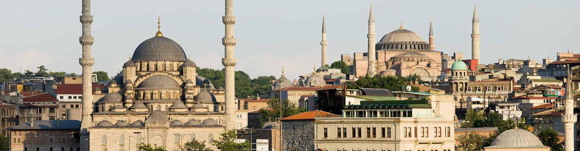 Istanbul – Ostelli vicini a Aeroporto Internazionale Atatürk. Mappe per Istanbul, Foto e Recensioni per ogni ostello a Istanbul.